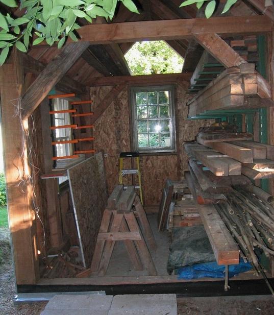Ken S Backyard Wood Shed